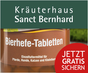 Kräuterhaus Sanct Bernhard Neukunde Bierhefe Tierlieb
